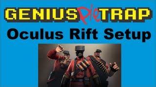 Oculus Rift VR DK1 Complete Easy Setup
