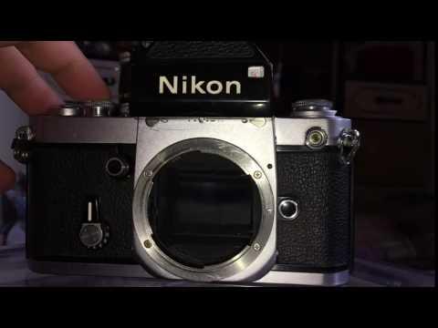 Nikon F2 shutter slow motion