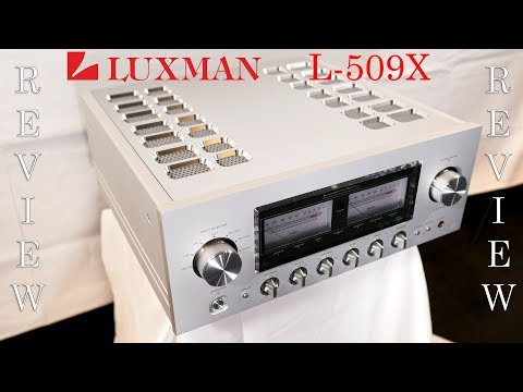 Luxman L-509X HiFi Integrated Amplifier Review - Sensational