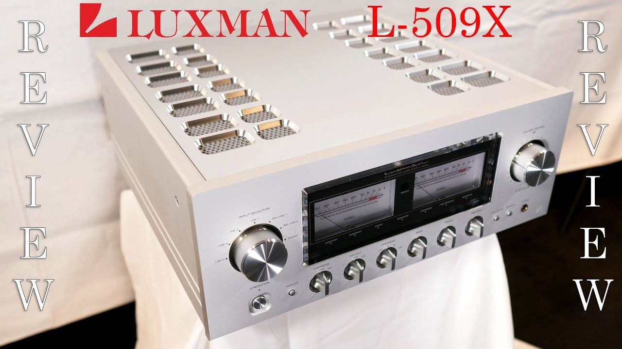 Luxman L-509X HiFi Integrated Amplifier Review - Sensational
