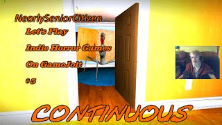 CONTINUOUS : Let's Play Indie Horror Games On GameJolt #5