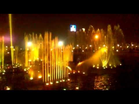 the musical fountain of lucknow