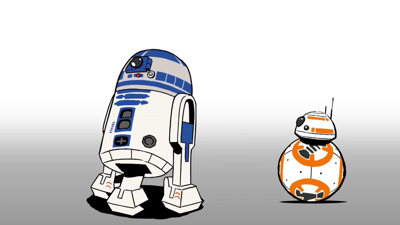 Star Wars La Pause Bb 8 R2 D2
