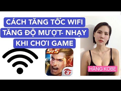 hướng dẫn hack wifi trên điện thoại android - Cách Tăng Tốc Độ Wifi và Tăng độ Mượt  Khi chơi Game/ Android/IOS/ Hằng Kobe/2020