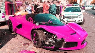SUPERCAR FAILS AND CRASH COMPILATON #4 [BUGATTI, LAMBORGHINI, FERRARI, CORVETTE, GT-R