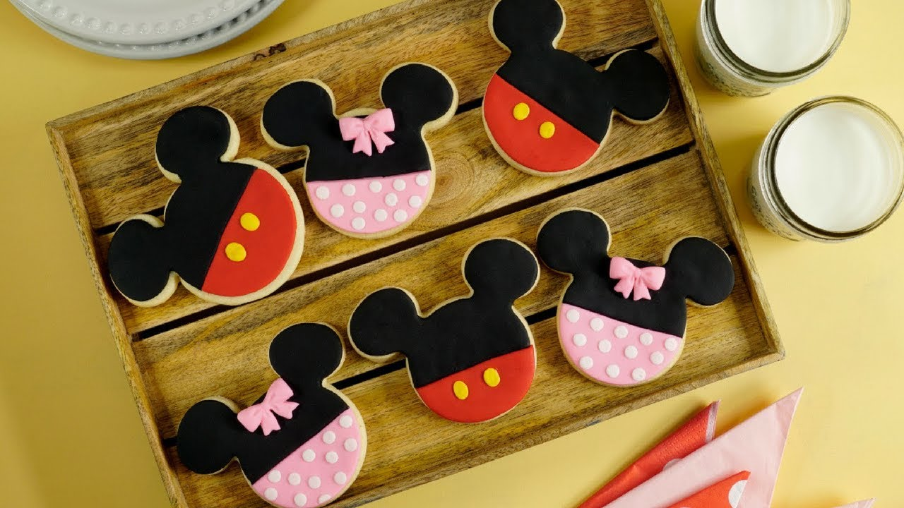 Galletas De Mickey Y Minnie Mouse Youtube