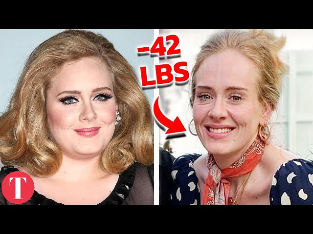 10 Dramatic Celebrity Weight Loss Transformations How They Did It