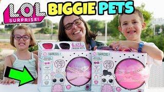 LOL SURPRISE BIGGIE PETS: 15 Sorprese Adorabili nei Cuccioli Giganti