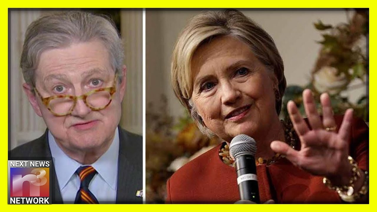 Shots FIRED! Hillary is PISSED! Look How She Just ATTACKED Sen. John Kennedy!