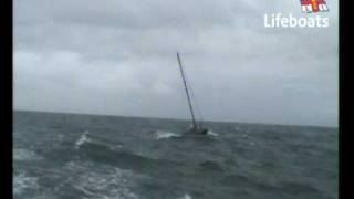 The Rescue of Yacht Opposition off Salcombe