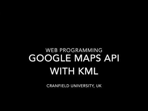 Google Maps API with KML