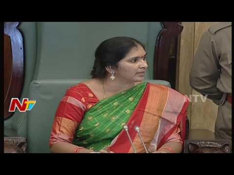 Deputy Speaker Padma Devender Reddy Fires on Congress Leaders in TS Assembly || NTV