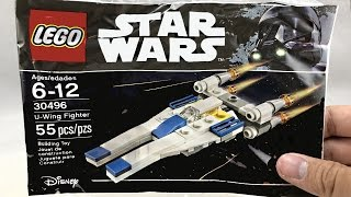 LEGO Star Wars U-Wing Fighter review! 2017 polybag 30496!