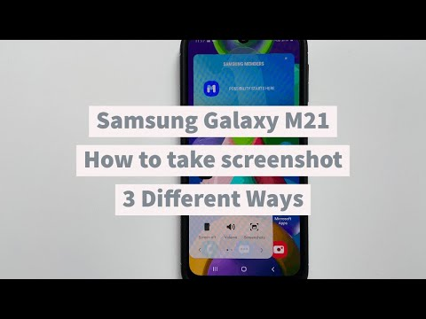 How To Take Screenshot On Samsung Galaxy M21 3 Different Methods Tech2touch