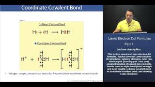 MCAT: Ordinary Covalent Bond vs Coordinate Covalent Bond