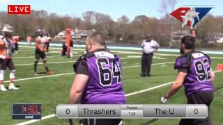 A7FL 2017 Week 3 - NJ Thrashers vs NJ U & Baltimore Cobras vs NJ Spank Town Boys