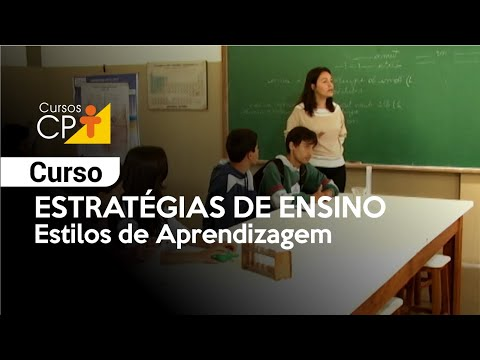 Clique e veja o vídeo Curso Estratégias de Ensino - Estilos de Aprendizagem