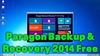 Backups mit Paragon Backup & Recovery 2014 Free