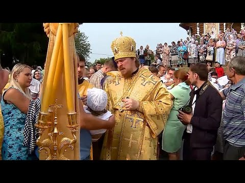 Mass baptisms performed in Russia to celebrate Christianity
