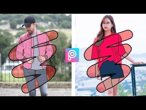 Cara Edit Foto Dengan Efek Draw Art Effect Di Android | Tutorial PicsArt