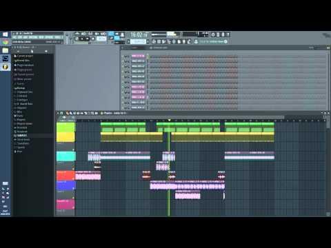 Raa productionz (coop. ZionBeatz) - Detroit-Destroyd [DoubleTime MassakaH]