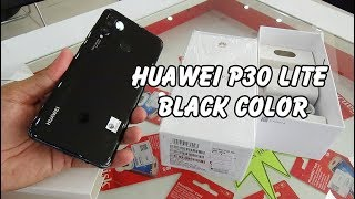 Unboxing Huawei P30 Lite Midnight Black color