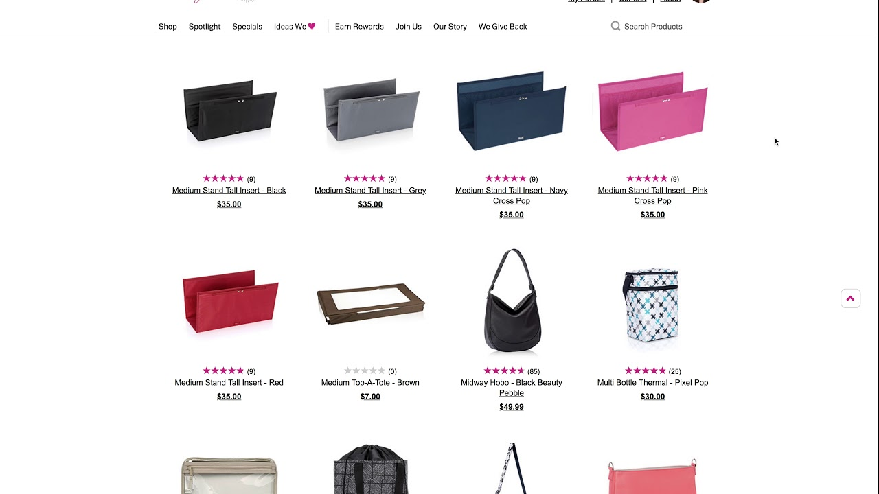 d4ef547ab0619 Thirty-One Medium Utility Tote Customer Special 2 for $20 Bundle