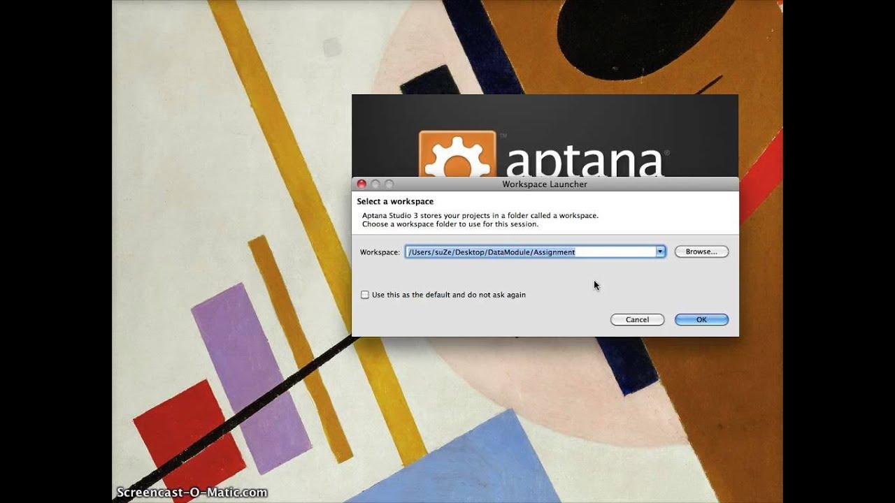 Aptana studio 3 python tutorial.