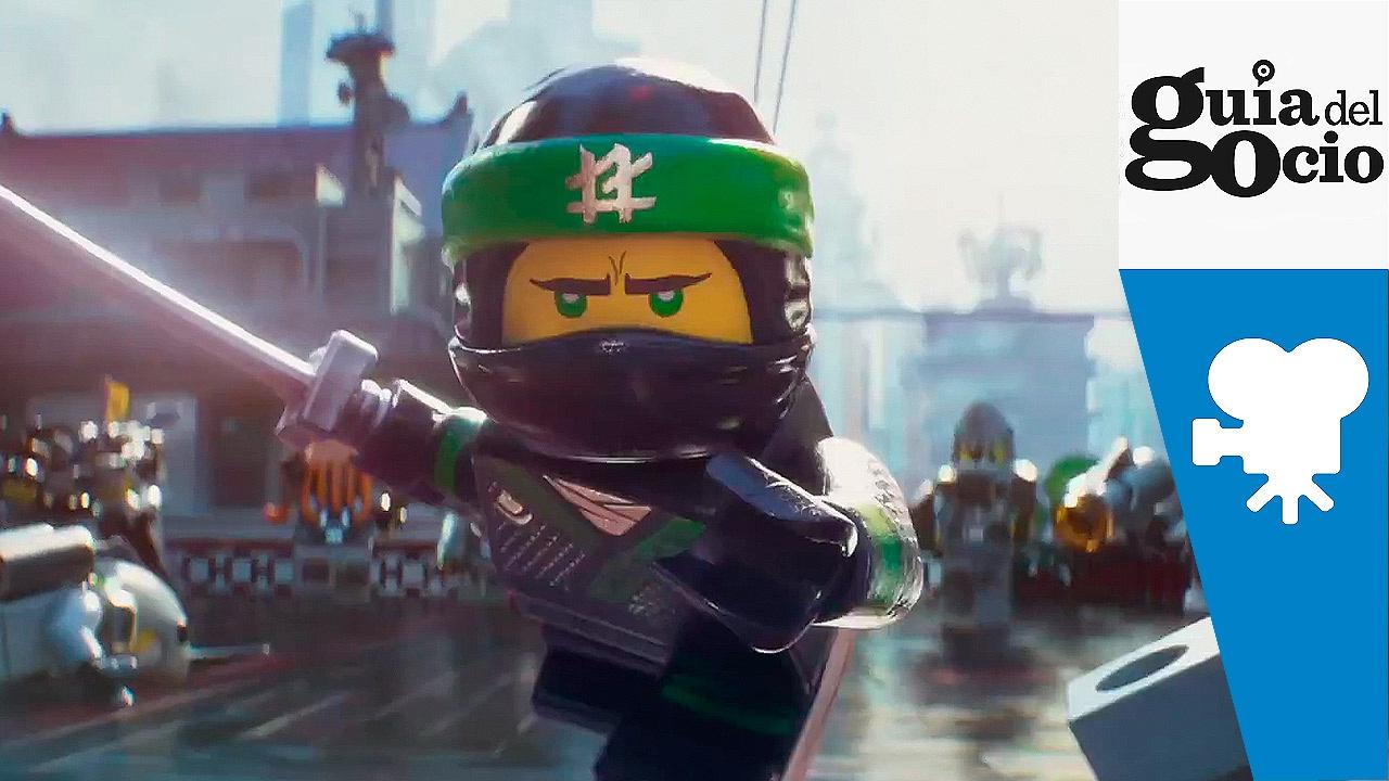 La lego ninjago pel cula the lego ninjago movie trailer espa ol youtube - Ninja vert lego ...
