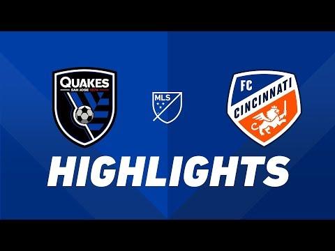 San Jose Earthquakes vs. FC Cincinnati | HIGHLIGHTS - May 4, 2019
