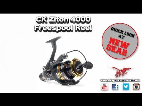 Take A Look At The CK Ziton 4000 Freespool Reel
