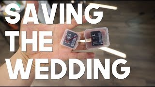 Saving The Wedding | chip-off data recovery on Lexar 64GB SD card
