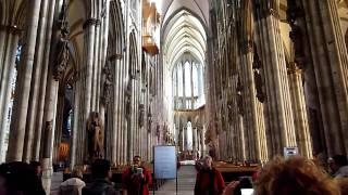 Kölner Dom / Кёльнский собор(Кёльнский собор (нем. Kölner Dom) — готический собор в Кёльне (Германия), объект всемирного культурного наследия..., 2011-03-29T20:33:41.000Z)