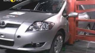Euro NCAP | Toyota Auris | 2006 | Crash test