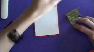 Stampin' Up! Origami Christmas Tree Card Final_0001.wmv