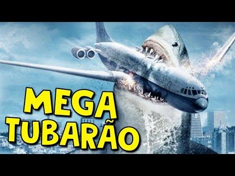 NÃO ASSISTA ESSE FILME - MEGA SHARK VS CROCOSAURUS