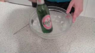 Ice Cold Beer in Two Minutes!