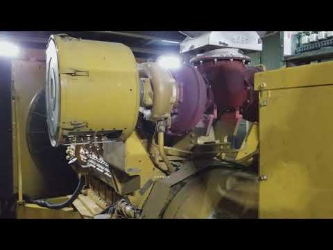 2 MW Caterpillar 3516 Diesel Generator Start and Load Transfer