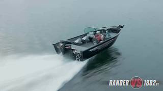 Ranger Aluminum VS1882WT On Water Footage