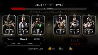 Mortal Kombat X Android Shao Kahn's Tower Fight 10 - 18