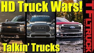 The Heavy Duty Truck War Is On! Here's Everything We Know   Talkin' Trucks #33