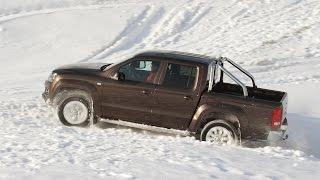 Volkswagen Amarok — Снег(Отчёт с теста пикапа Volkswagen Amarok читайте на Драйве: https://www.drive.ru/drive-test/4efb32d700f11713001e2728.html., 2011-05-11T07:32:24.000Z)
