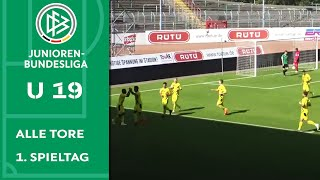 Hattrick in 16 Minuten! Moukoko schon wieder on Fire 🔥 Alle Tore A-Junioren-Bundesliga | 1. Spieltag