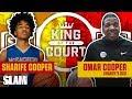 Sharife Cooper's Dad had RACKS on the Line for 1-v-1 💸 | SLAM King of the Court