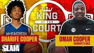 Sharife Cooper's Dad had RACKS on the Line for 1-v-1 💸 | SLAM King of the Court