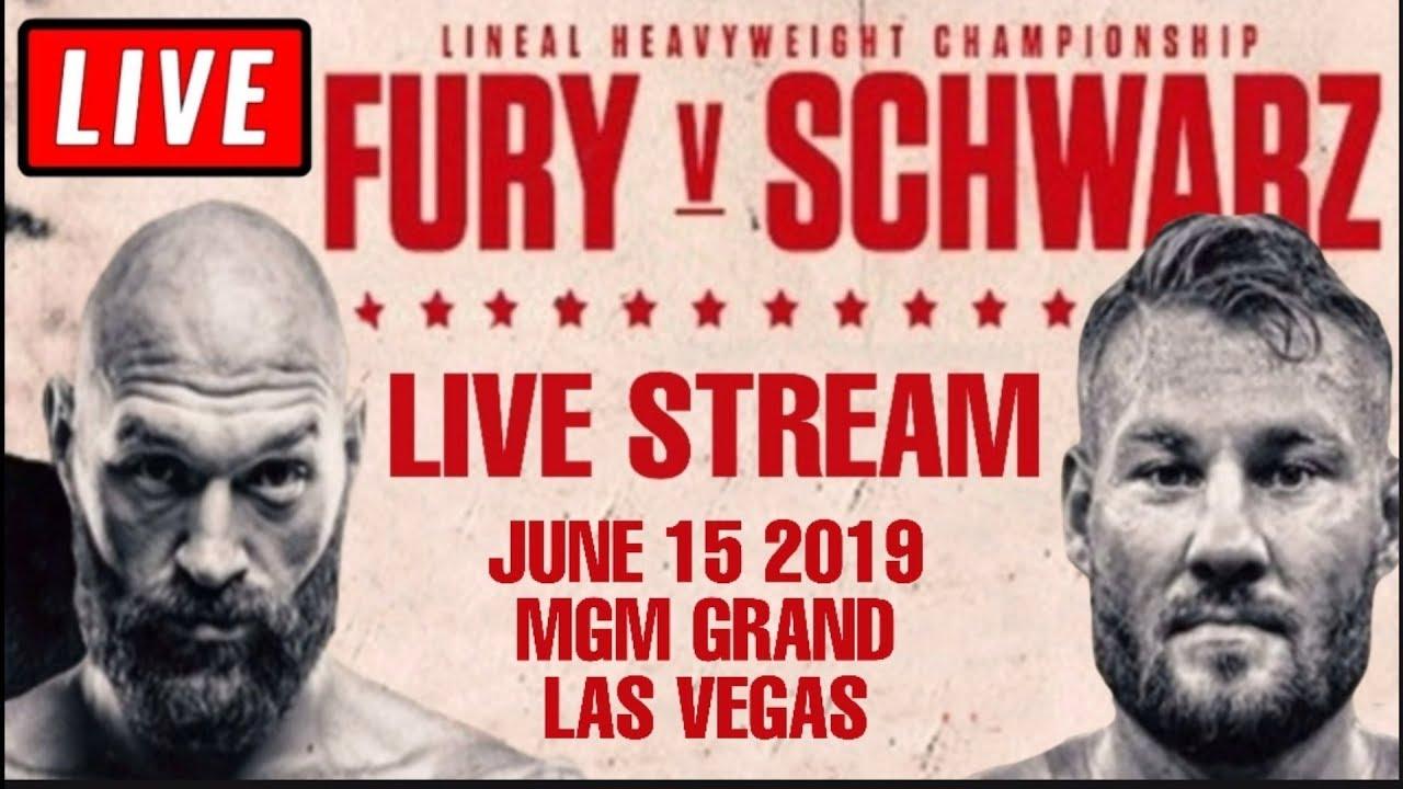 Tyson Fury v Tom Schwarz: lineal heavyweight championship  live!