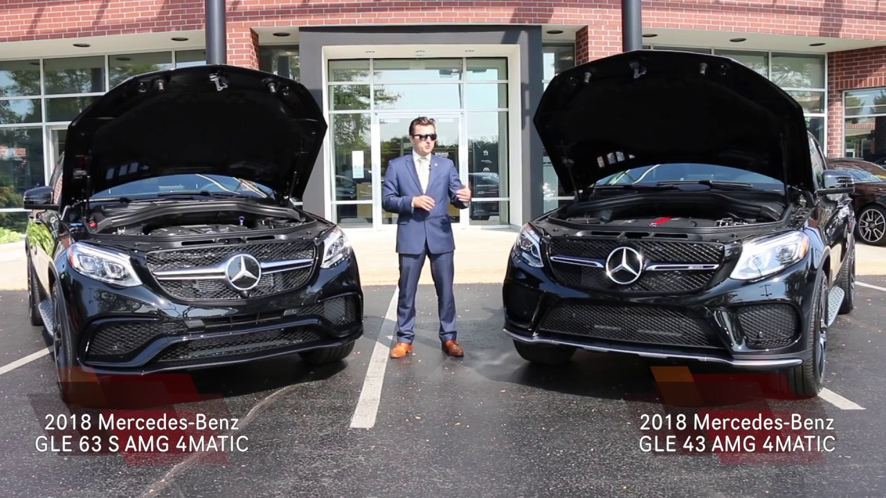 2018 mercedes benz amg gle 43 4matic and amg gle 63 for Knauz mercedes benz