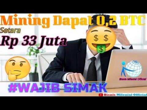 MINING DAPAT 0 ,2 BTC  PARA MINING HARUS SIMAK NIH MARI KITA REVIEW BERSAMA