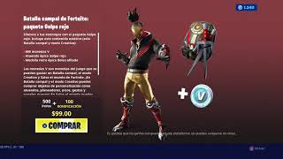 NEW FORTNITE RED GOLPE HOME PACK !