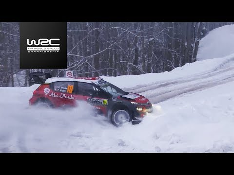 WRC - Rallye Monte-Carlo 2018: Highlights / Review Clip